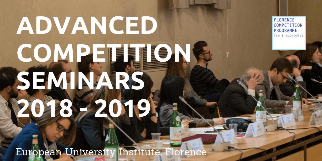 Advanced Competition Seminars 2018-2019